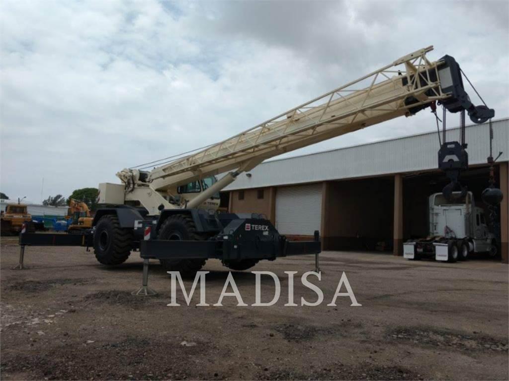 Terex EQUIP. LTD. RT670, cranes, Construction