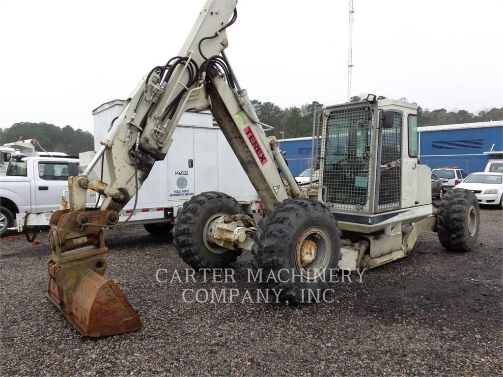 Terex HS 41 MM, wheel excavator, Construction