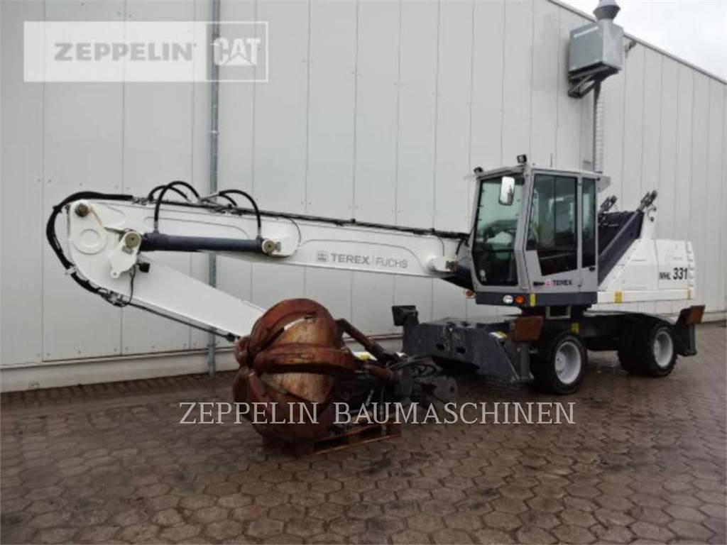 Terex MHL331D UM, wheel excavator, Construction