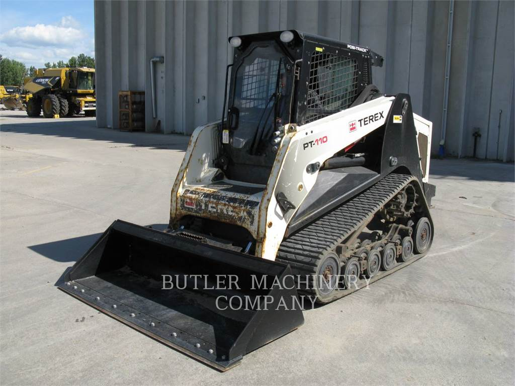 Terex PT110, Skid Steer Loaders, Construction