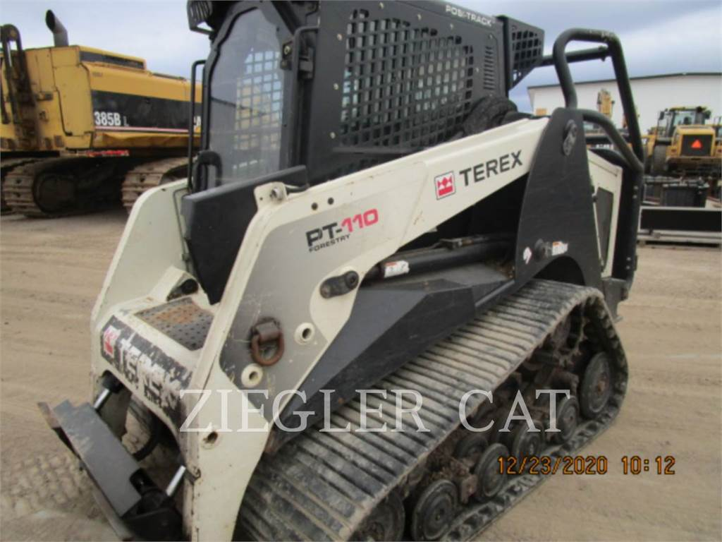 Terex PT110F, Skid Steer Loaders, Construction