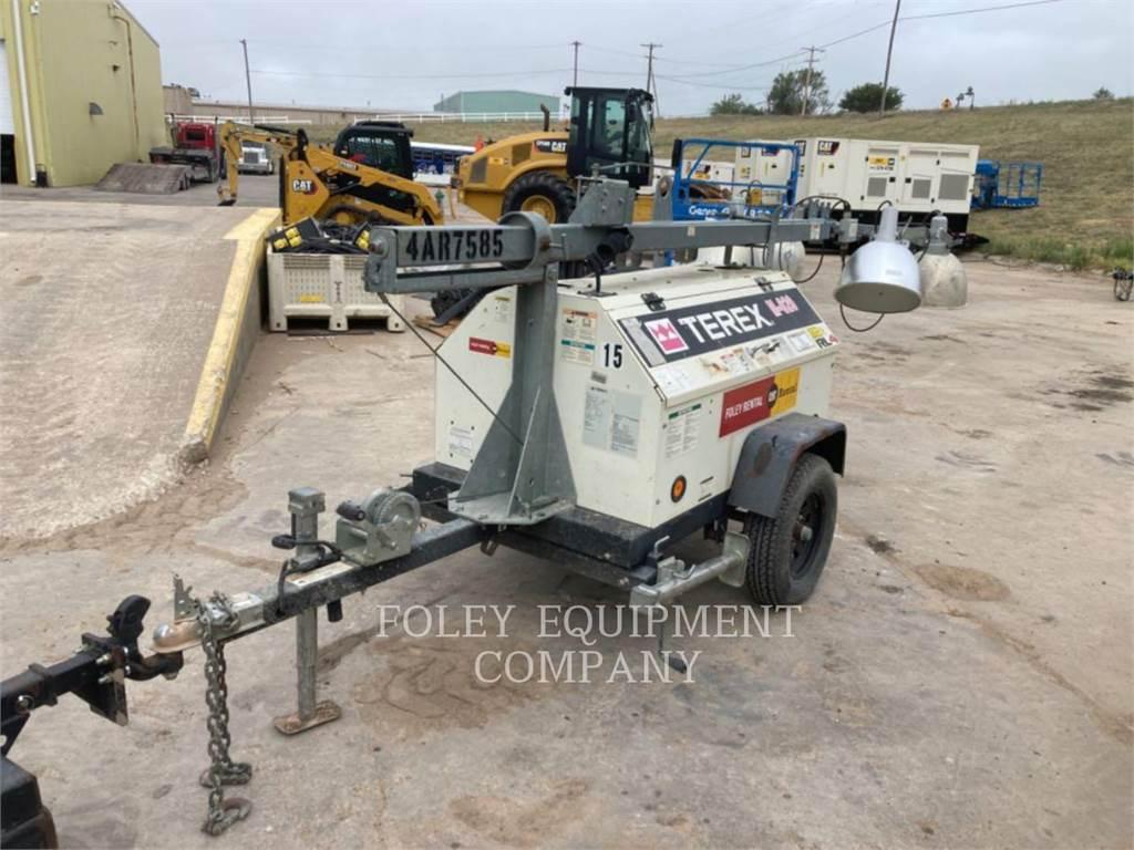 Terex RL4, tour d'éclairage, Équipement De Construction