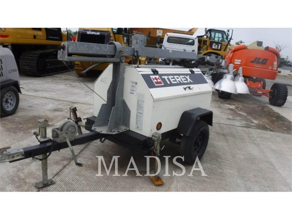 Terex RL4000, light tower, Construction
