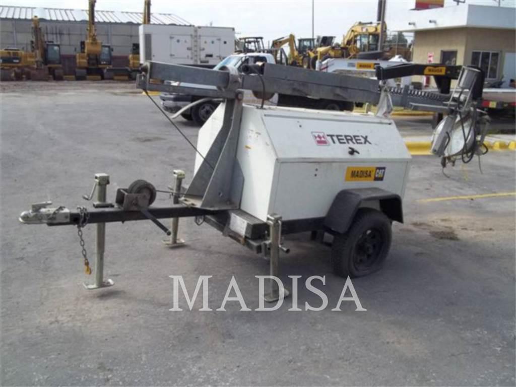 Terex RL4000, tour d'éclairage, Équipement De Construction