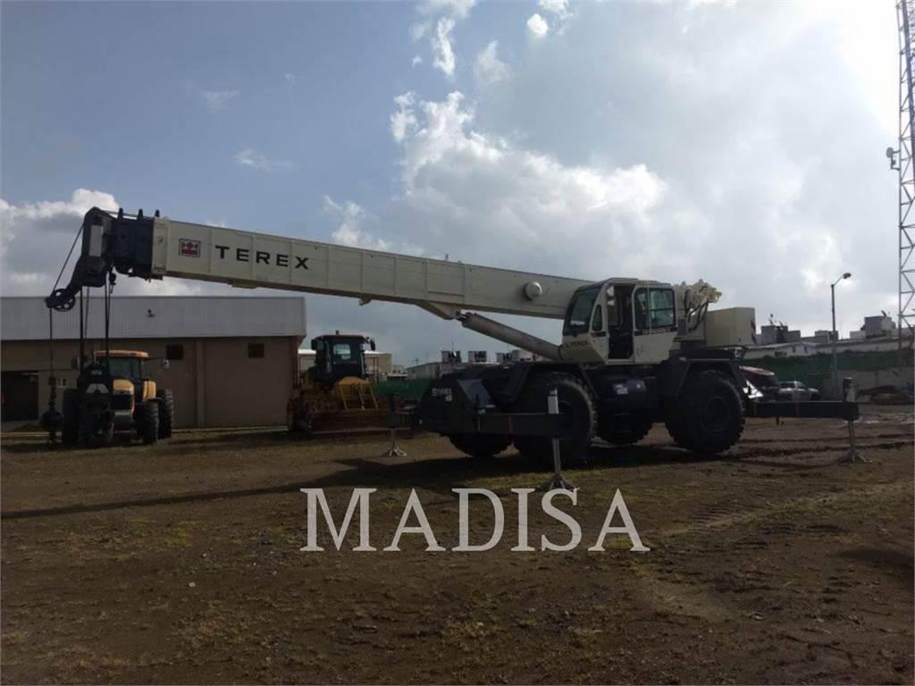 Terex RT555, macarale, Constructii