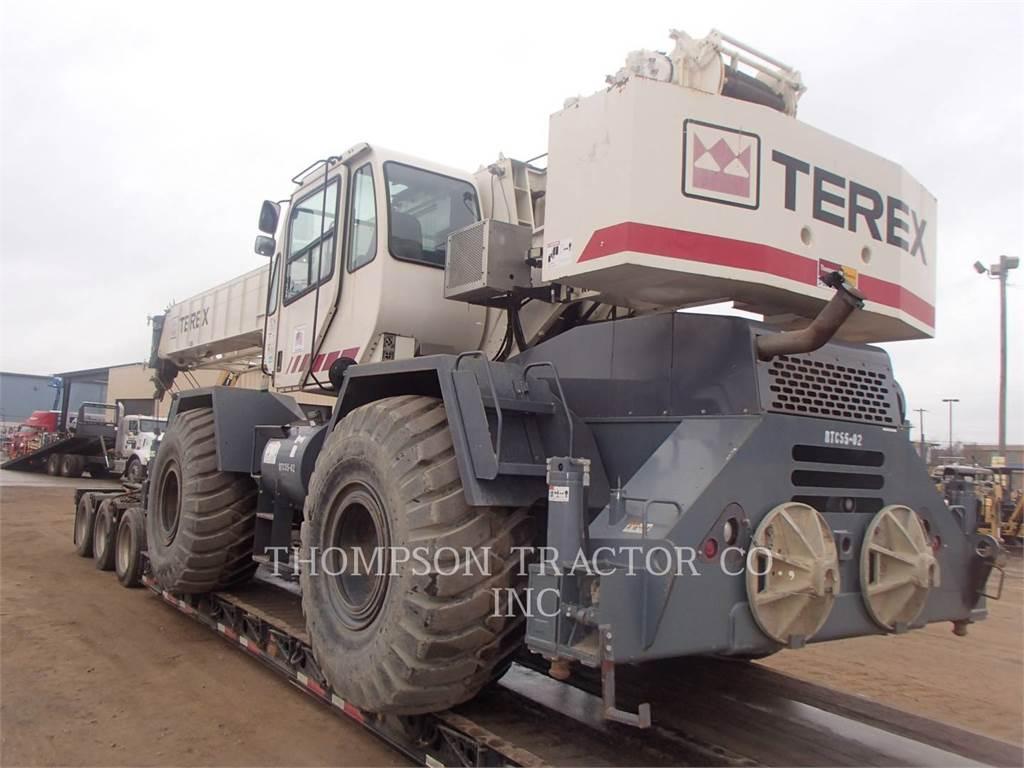 Terex RTC555-1 (55 TON), grúas, Construcción