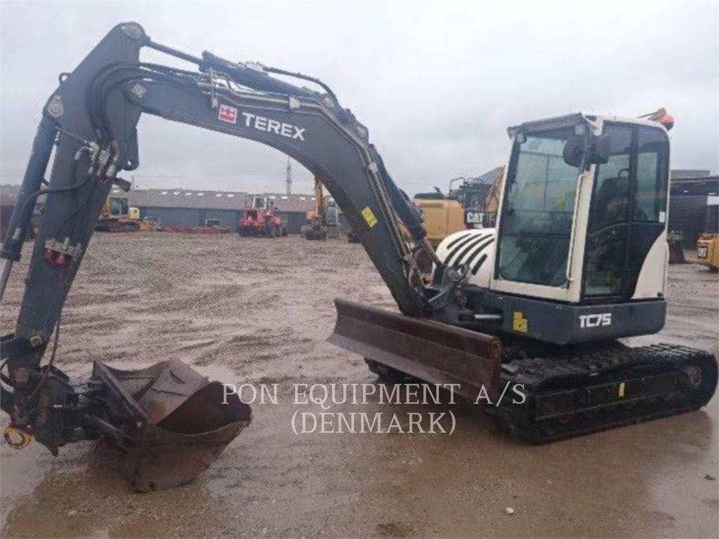 Terex TC 75, Crawler Excavators, Construction