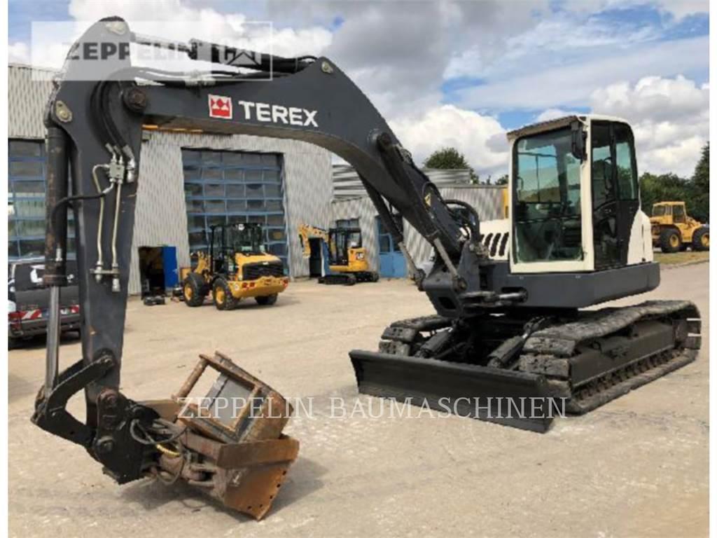 Terex TC125, Crawler Excavators, Construction