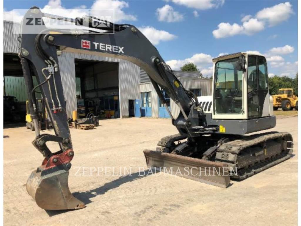 Terex TC125, Escavatori cingolati, Attrezzature Da Costruzione