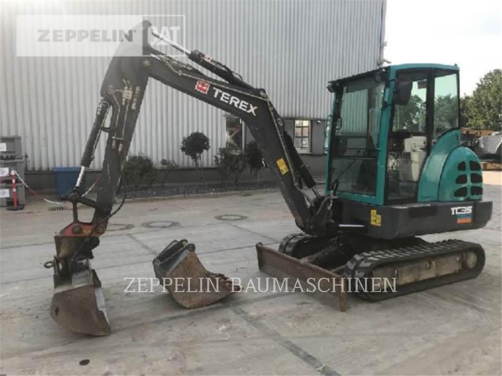 Terex TC35, Escavatori cingolati, Attrezzature Da Costruzione