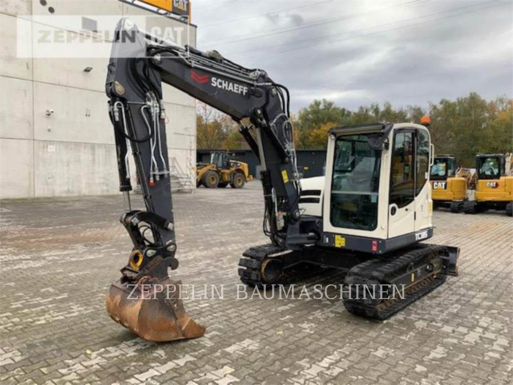 Terex TC85, Crawler Excavators, Construction