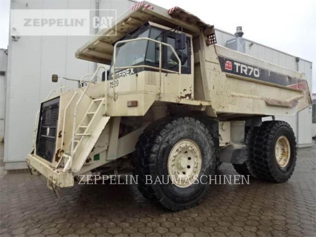 Terex TR70, Transportoare articulate, Constructii