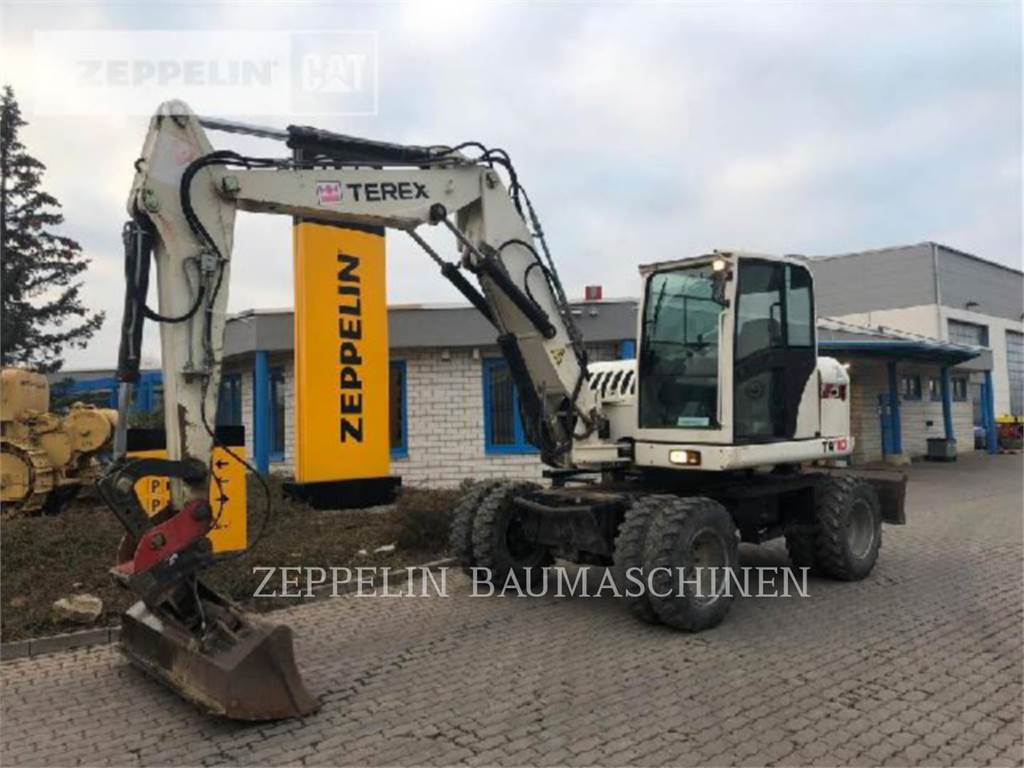 Terex TW110, wheel excavator, Construction