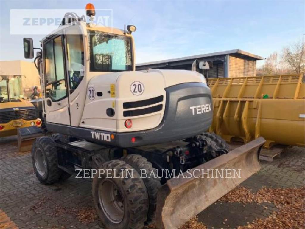 Terex TW110, wheel excavator, Construction