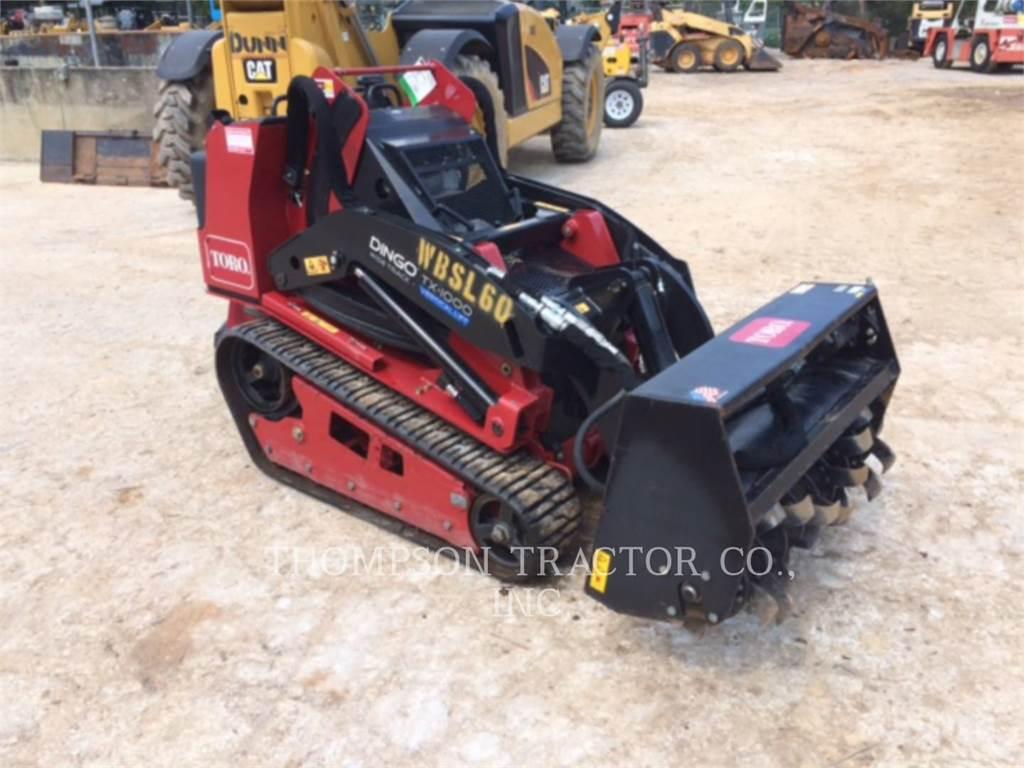 Terex TX1000, Carregadoras de direcção deslizante, Equipamentos Construção