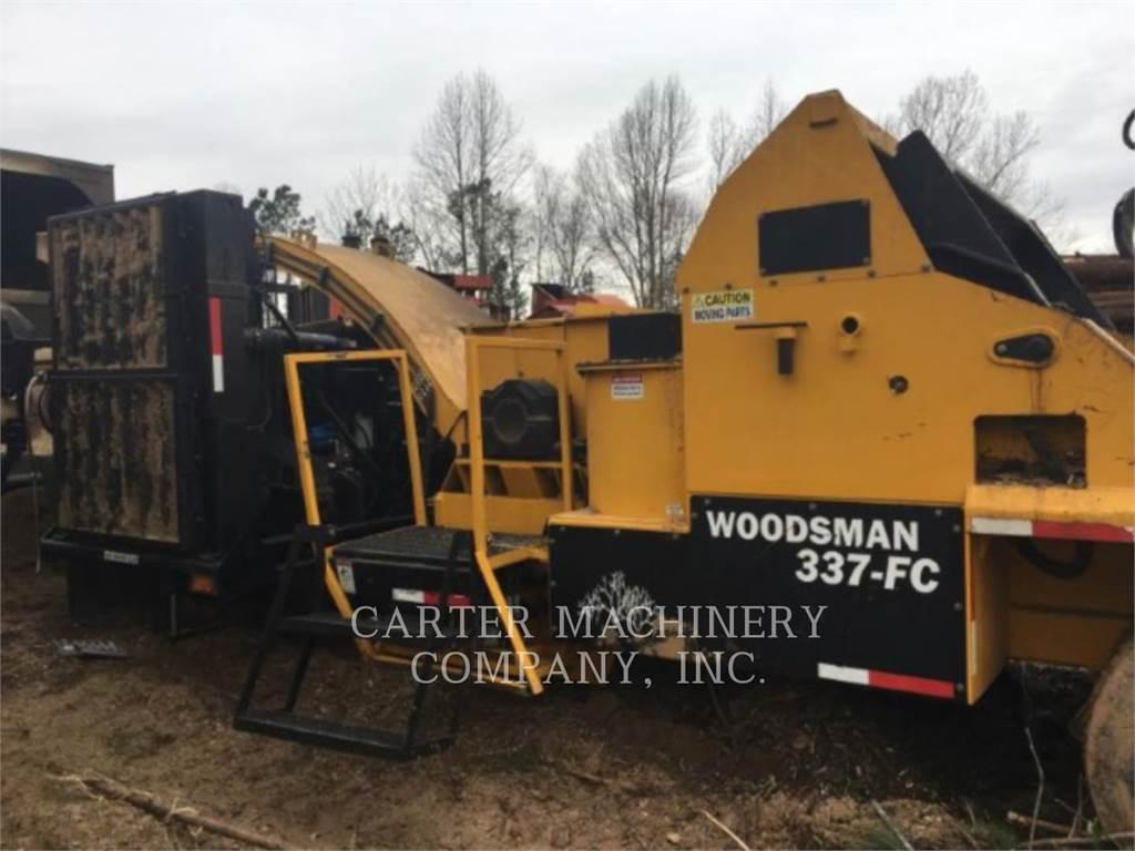 Terex Woodsman SALES INC WOODS 337, Masini de tocat lemn, Utilaje forestiere