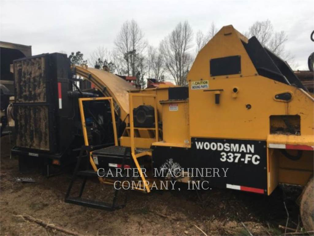 Terex Woodsman SALES INC WOODS 337, Trituradoras de madera, Forestal