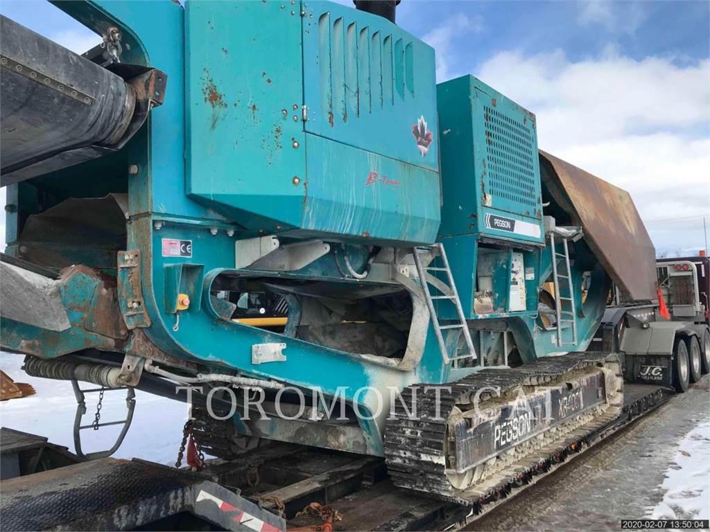 Terex XR400、圧砕機、建設