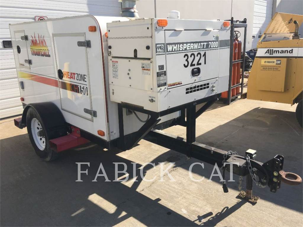 Thawzall TCH150, Used Ground Thawing Equipment, Construction
