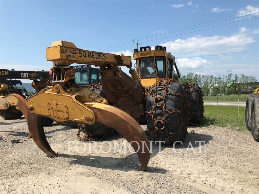 Tigercat 620C, skidder, Forestry Equipment