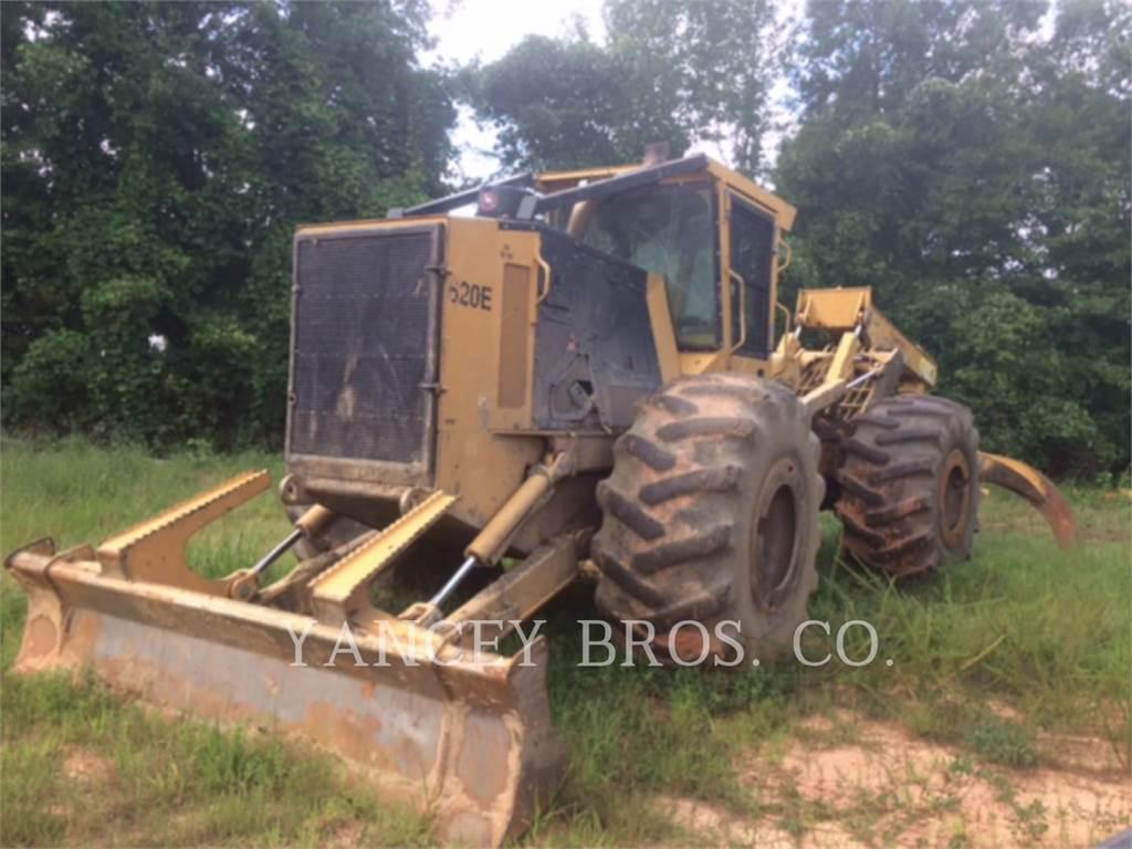 Tigercat 620E, skidder, Forestry Equipment