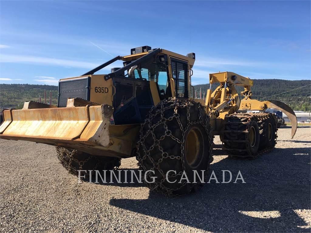 Tigercat 635 D, skidder, Forestry Equipment