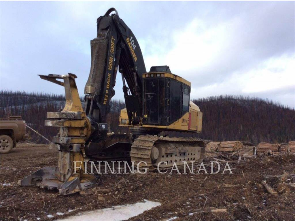 Tigercat 870 C, Feller Bunchers, Forestry Equipment