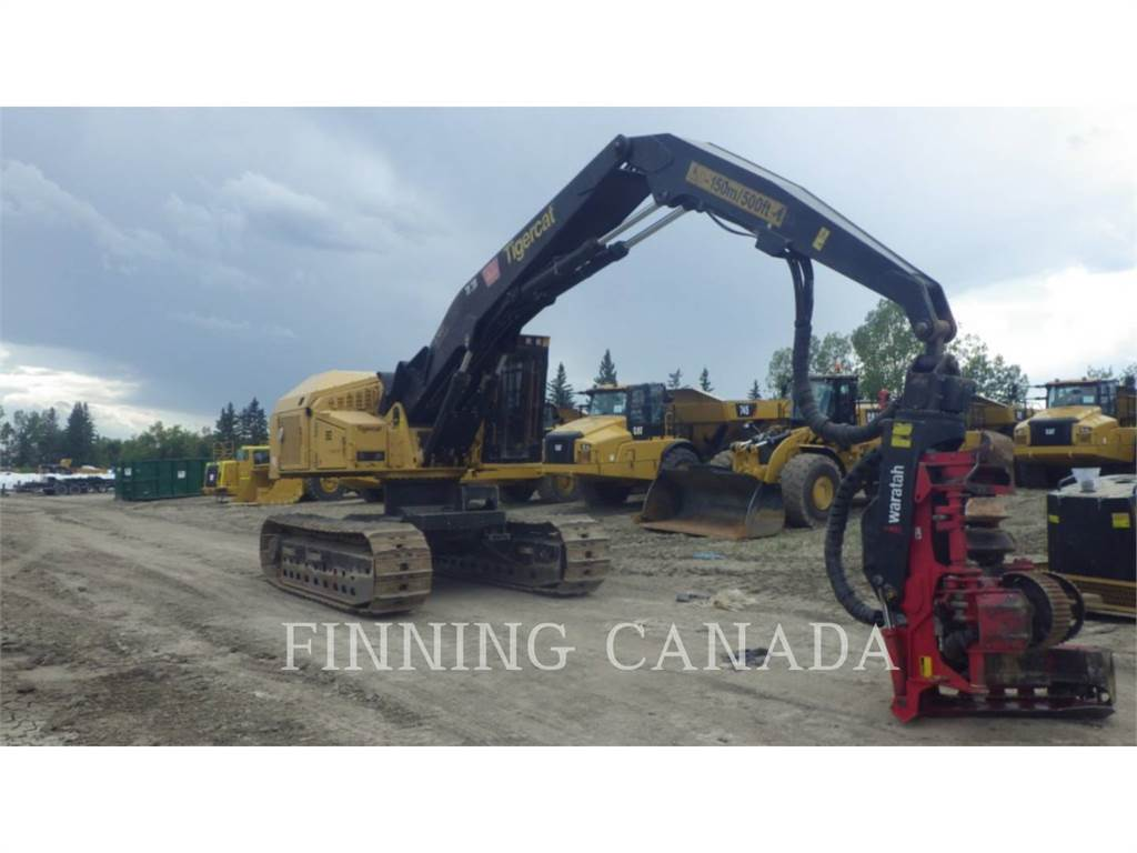 Tigercat H855C, Forestry Excavators, Forestry Equipment