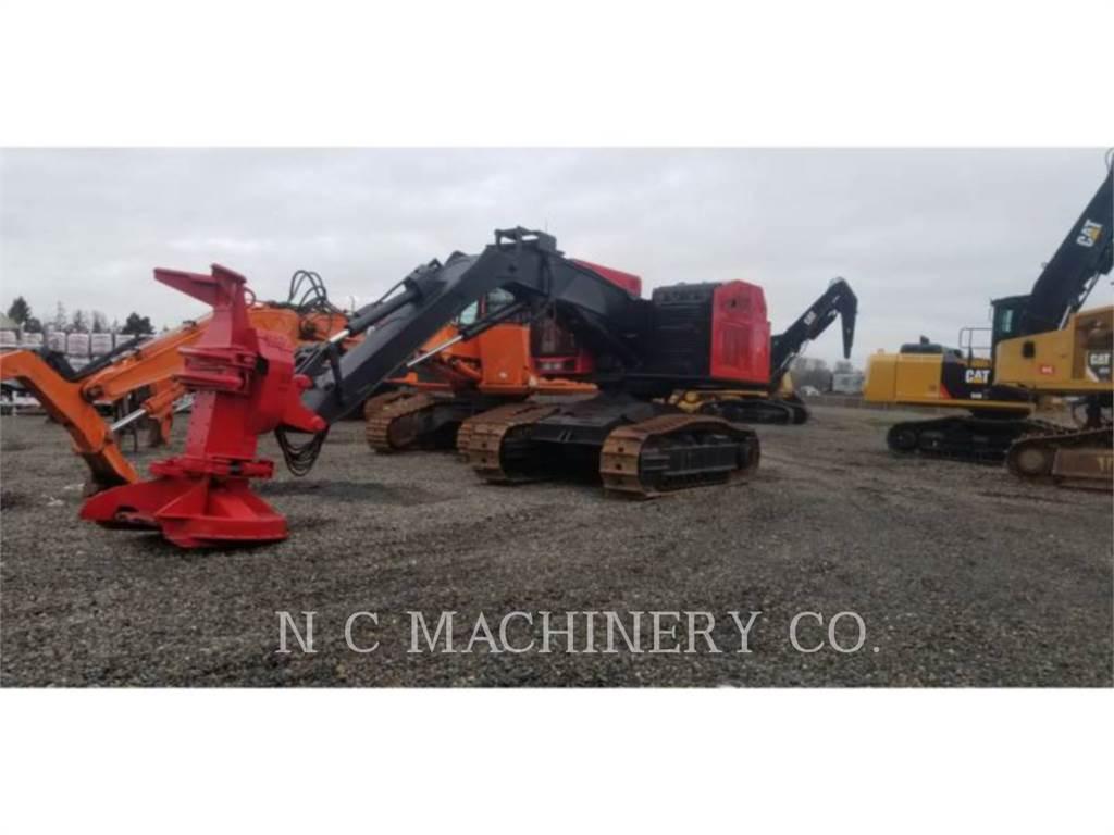 Timbco 475E, Gelenkausleger Lader, Forstmaschinen