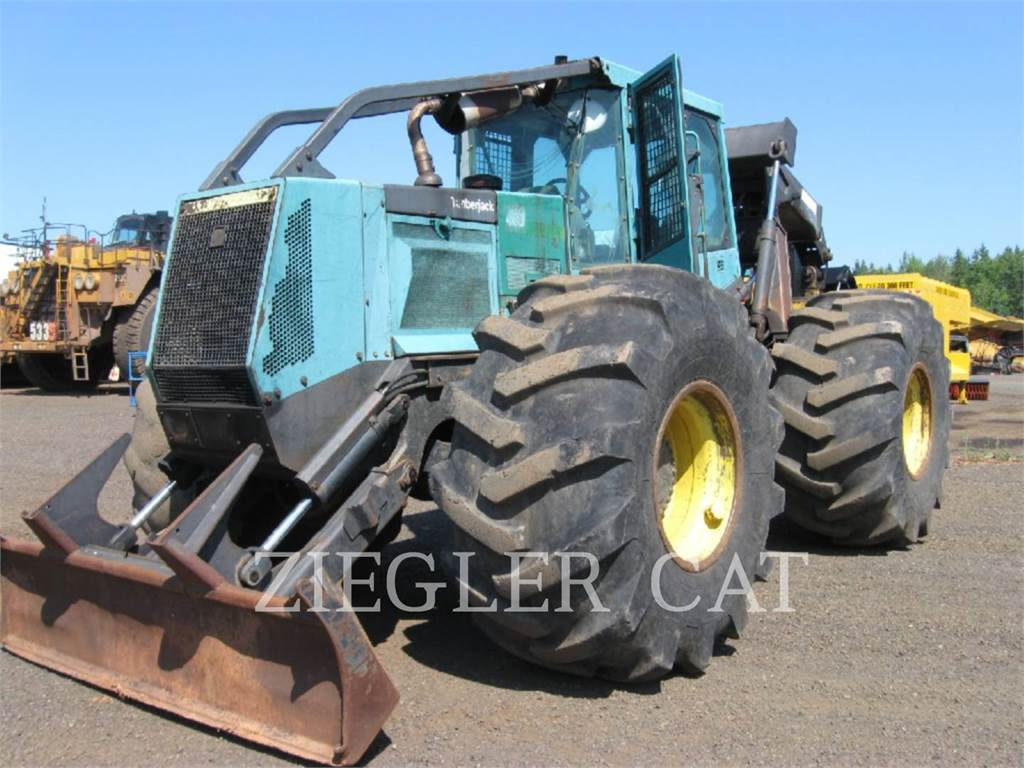 Timberjack 460, skidder, Forestry Equipment