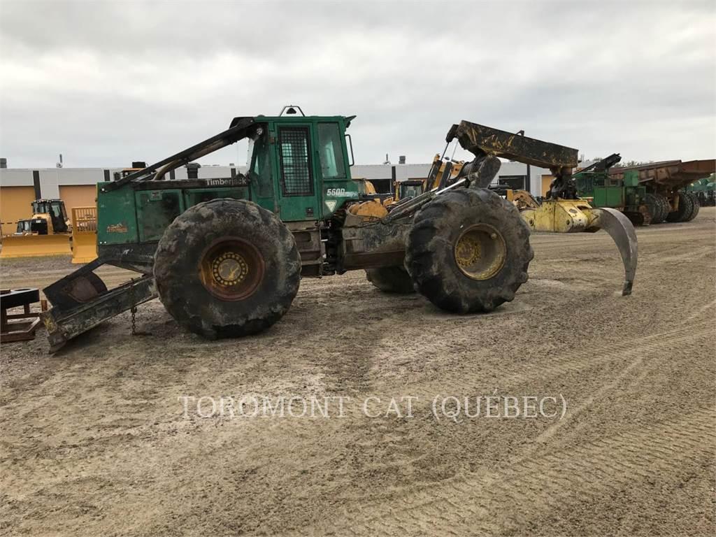 Timberjack 560D, silvicultură – excavator forestier, Utilaje forestiere