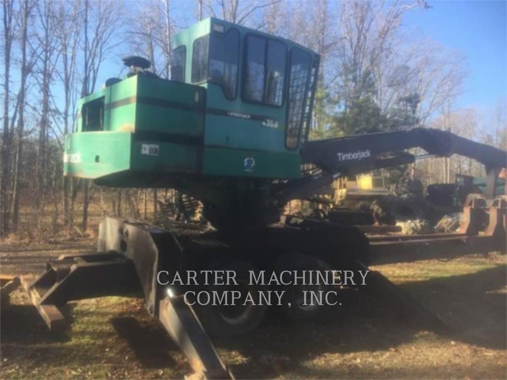 Timberjack TIMB 430B, Knuckleboom loaders, Forestry Equipment