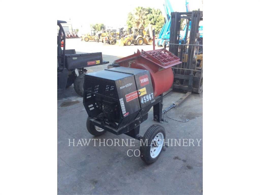 Toro MIXER MTR, concrete equipment, Construction