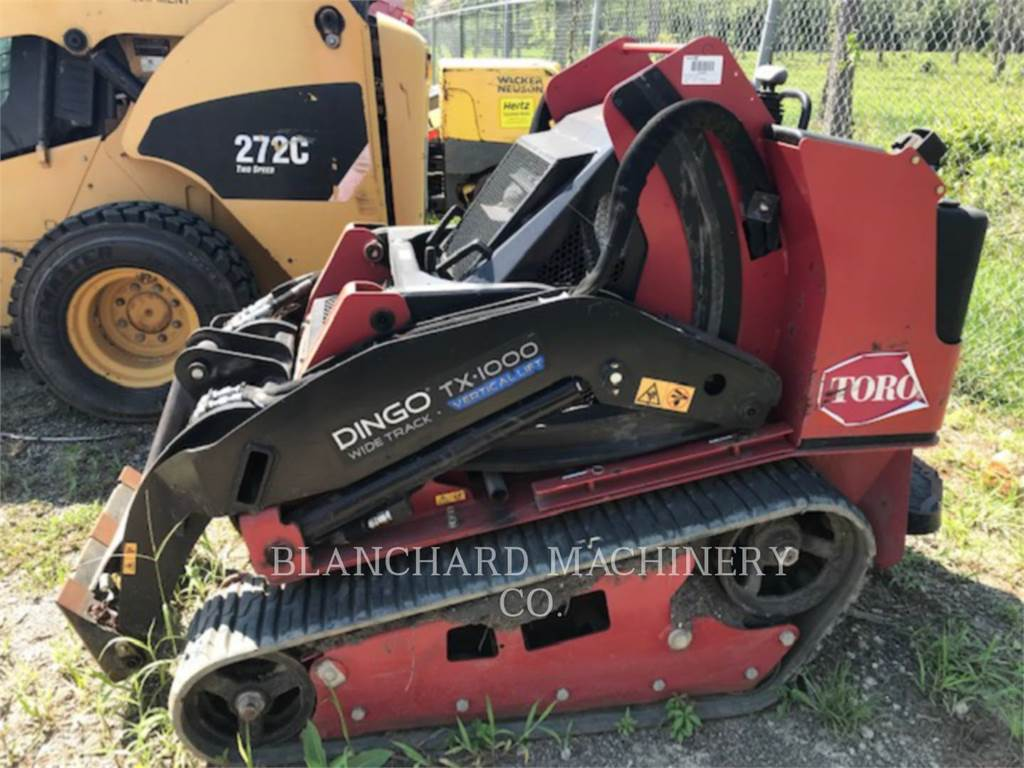 Toro TX1000, Skid Steer Loaders, Construction