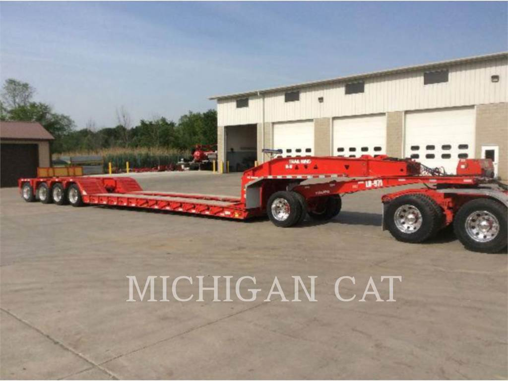 Trail King INDUSTRIES INC. TK100HDG, trailers, Vervoer