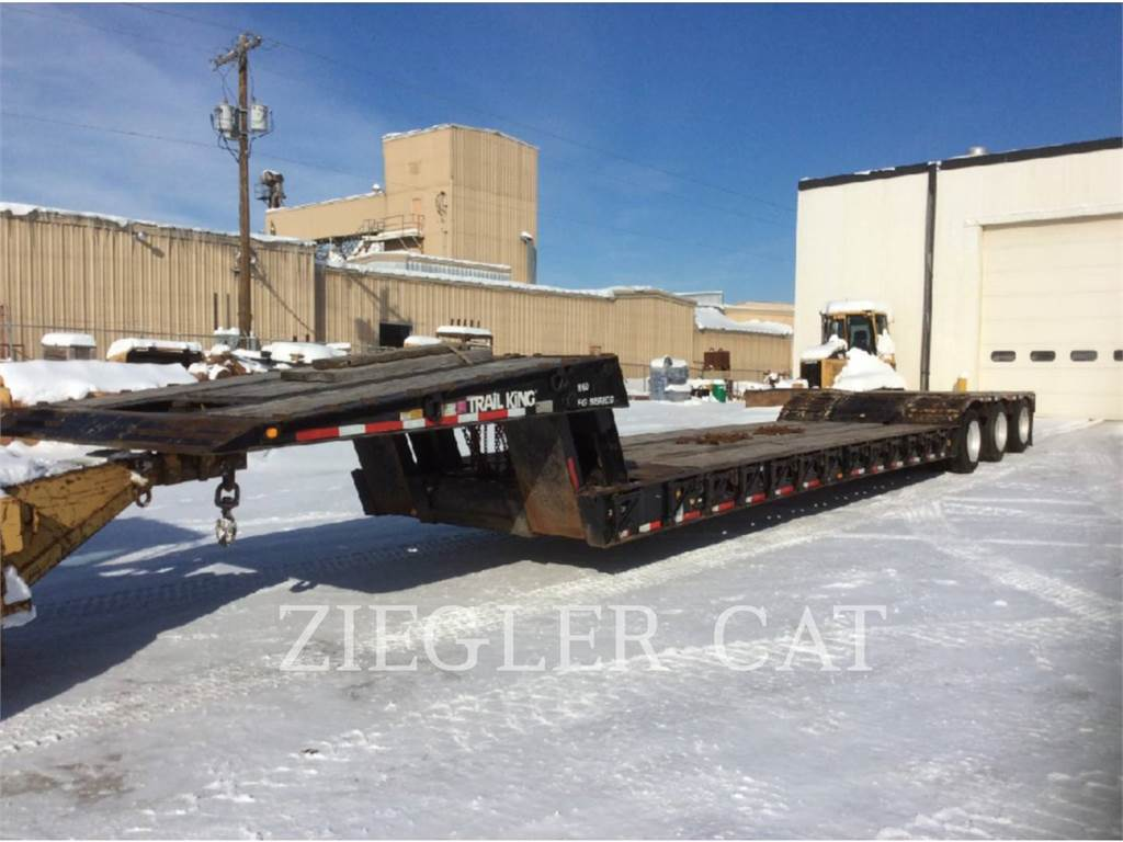 Trail King INDUSTRIES INC. TK80FG, trailers, Transporte