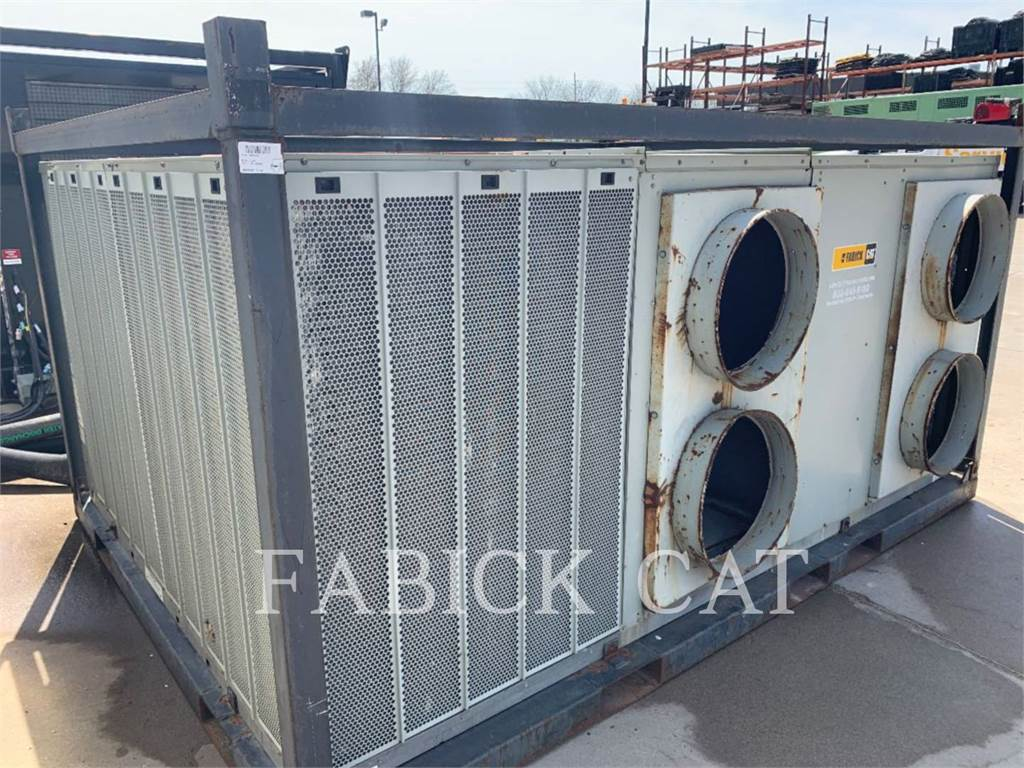 Trane 25T, Used Ground Thawing Equipment, Construction