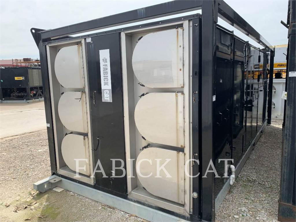 Trane TEH600, Used Ground Thawing Equipment, Construction