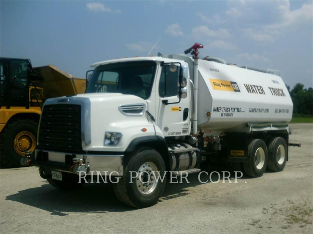 United WT5000, Caminhões-cisterna, Transporte