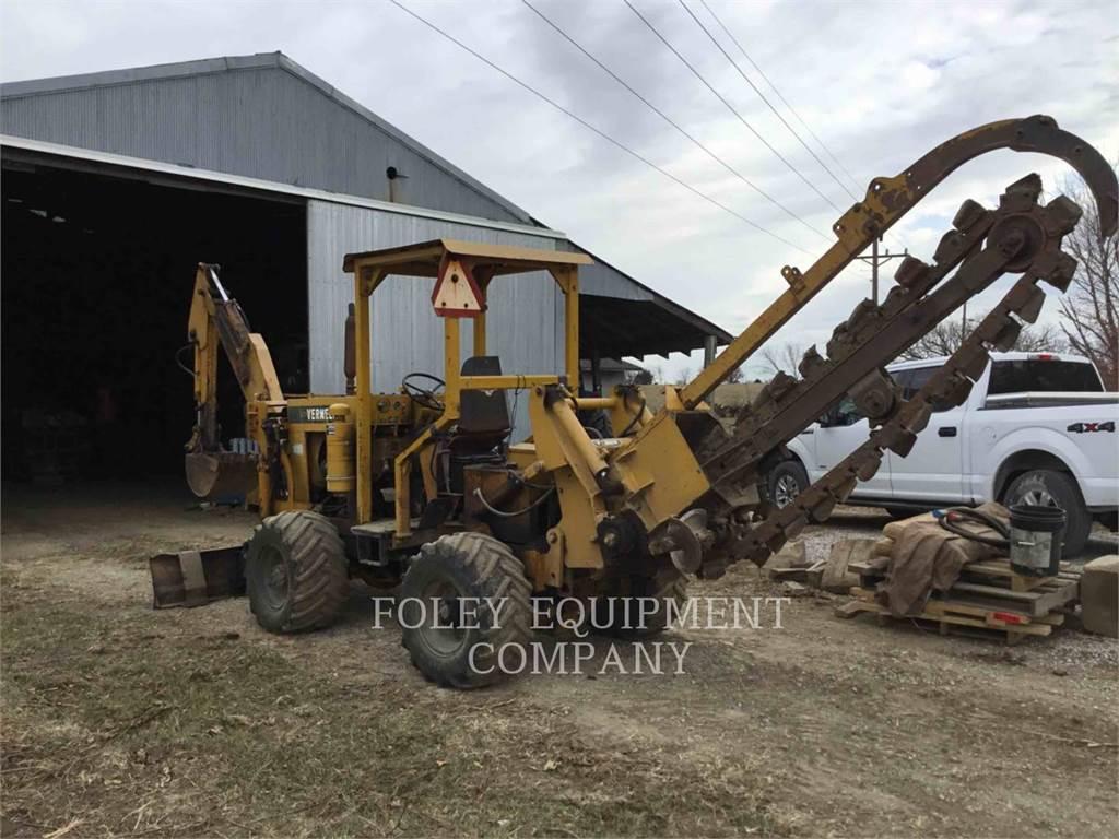 Vermeer M470, Trenchers, Construction