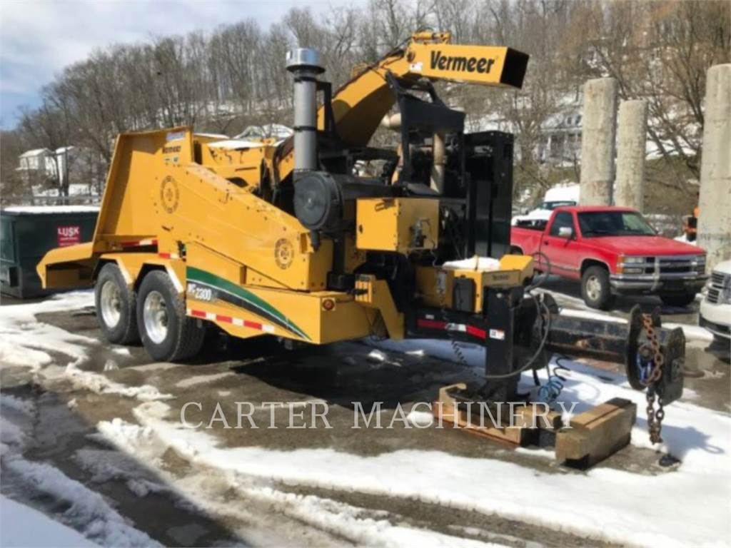 Vermeer WC 2300XL, Wood Chippers, Forestry Equipment