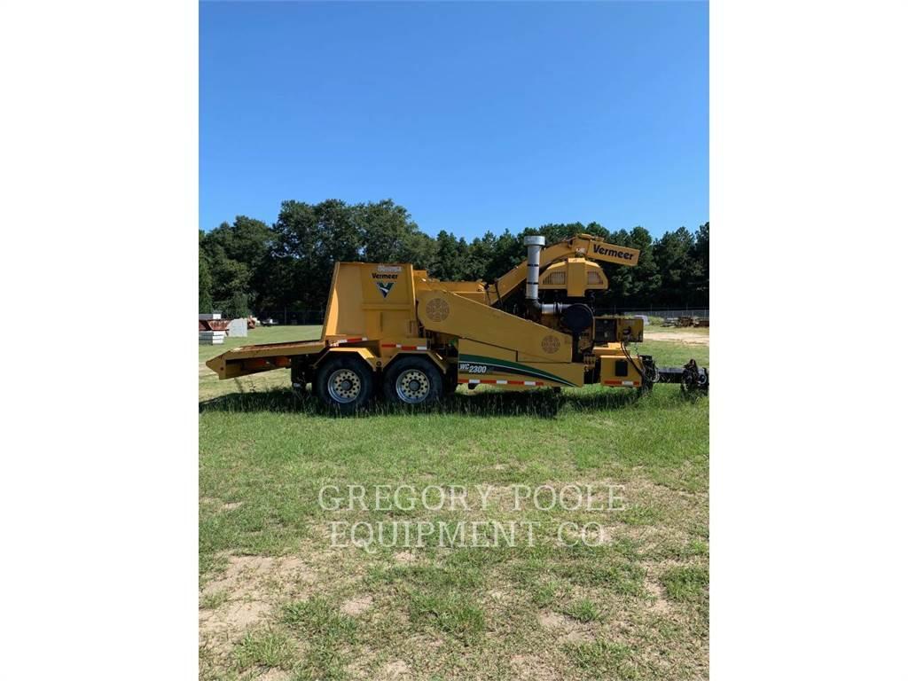 Vermeer WC2300XL, Holzhäcksler, Forstmaschinen