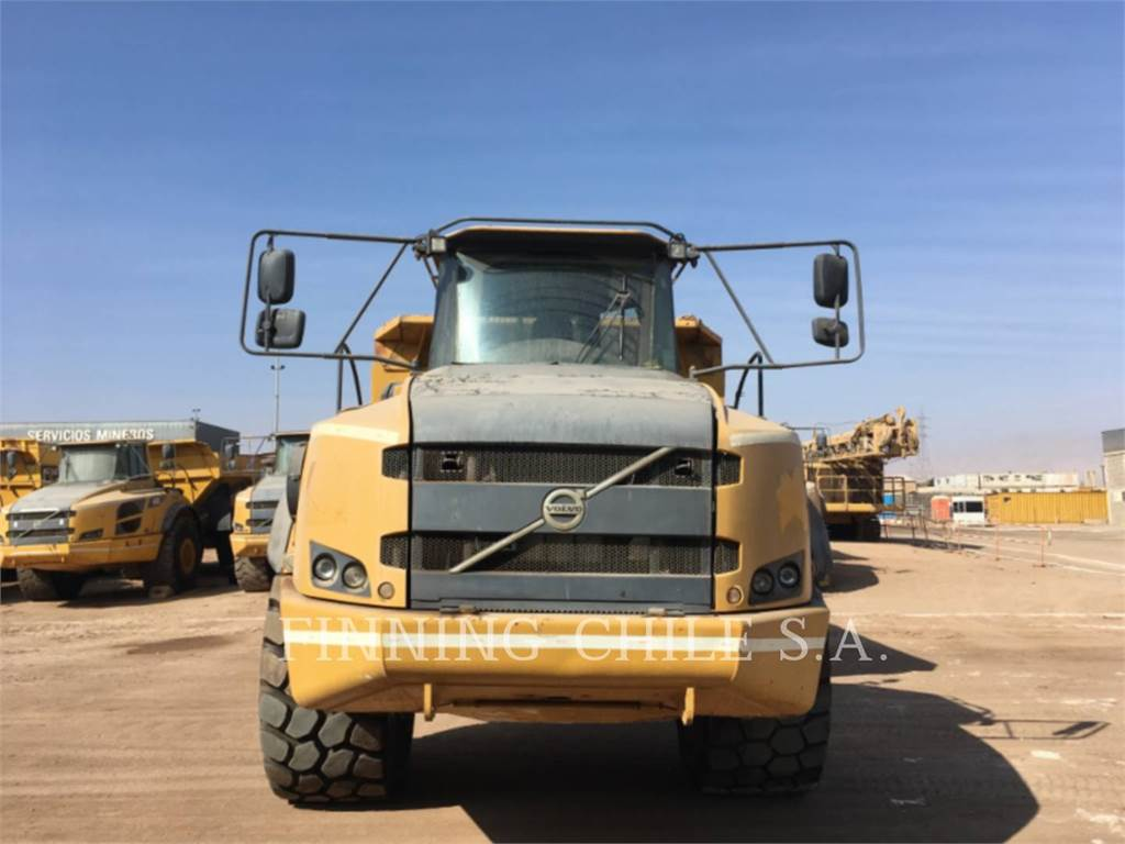 Volvo 40F, Articulated Dump Trucks (ADTs), Construction