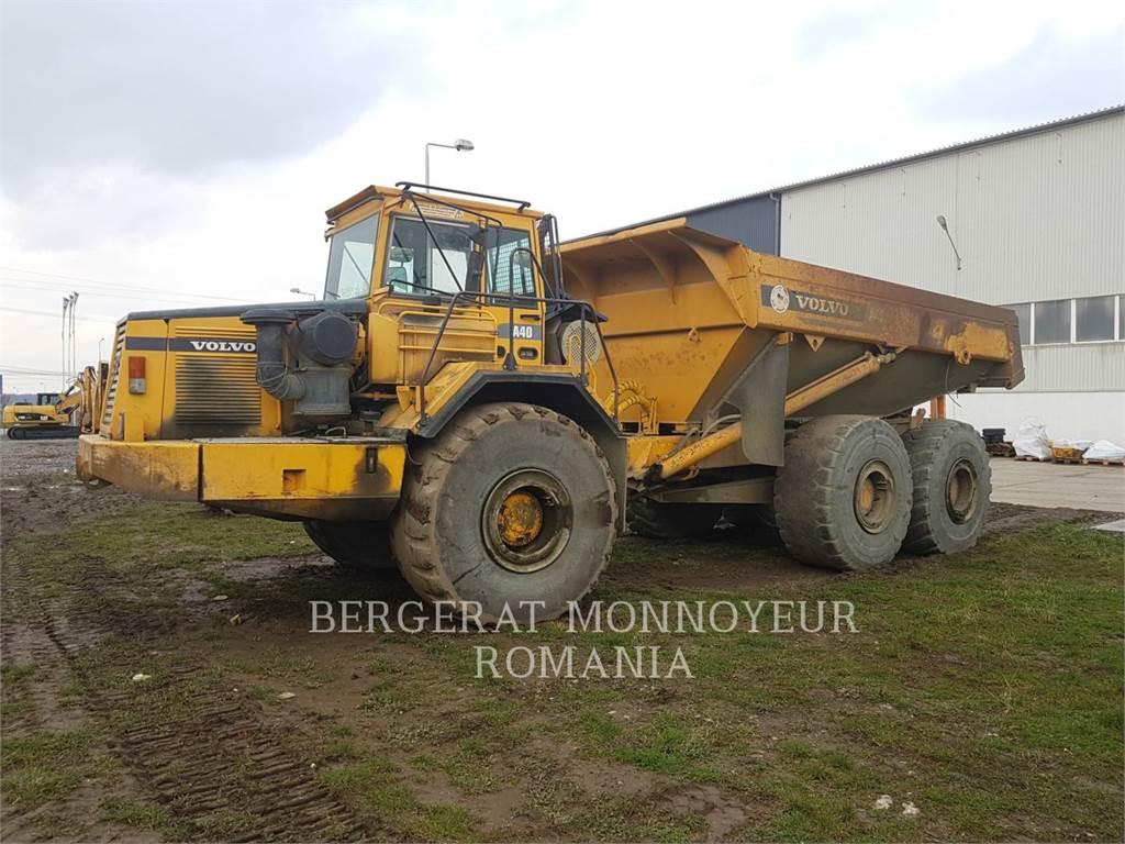 Volvo A 40, Articulated Dump Trucks (ADTs), Construction