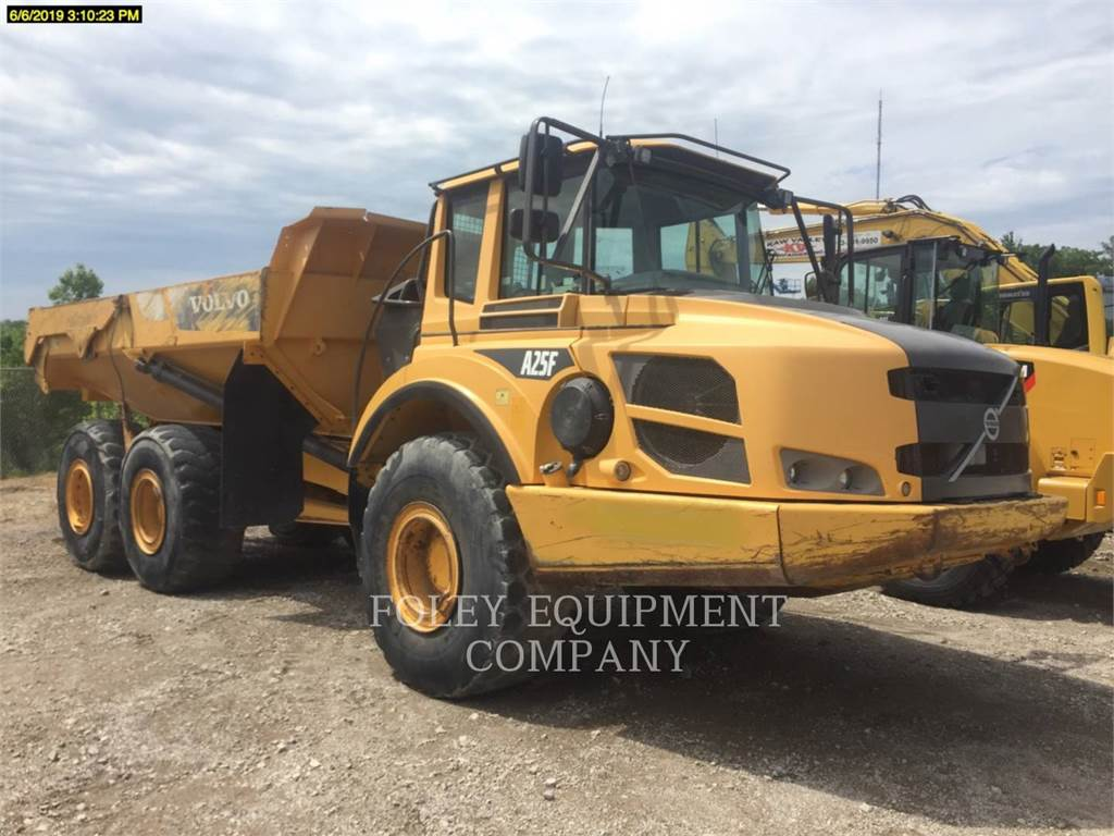 Volvo A25F, Articulated Dump Trucks (ADTs), Construction