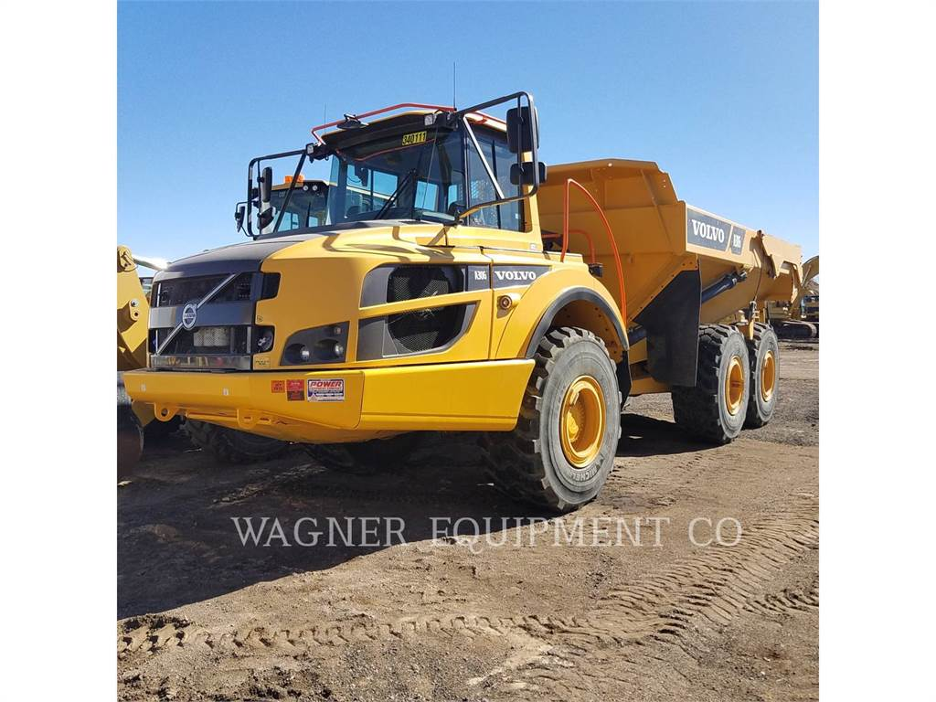 Volvo A30G, Articulated Dump Trucks (ADTs), Construction
