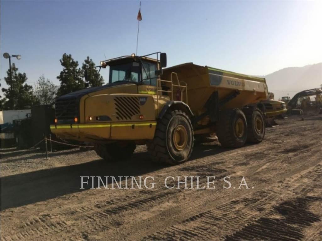 Volvo A40 D, Articulated Dump Trucks (ADTs), Construction