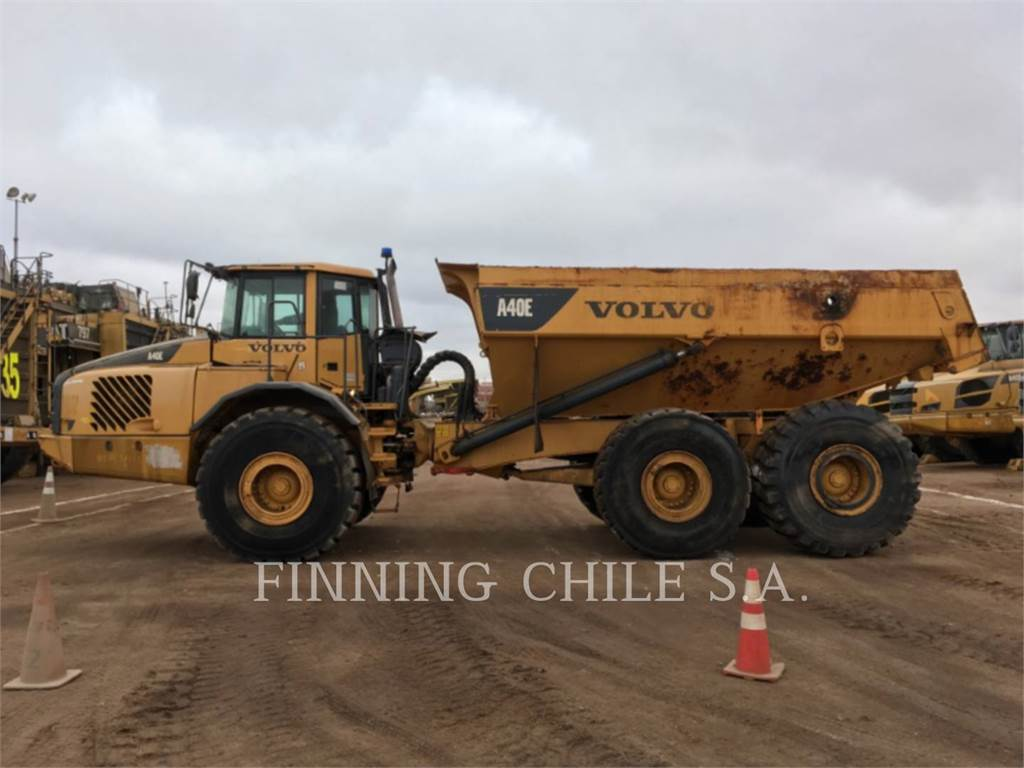 Volvo A40E, Articulated Dump Trucks (ADTs), Construction