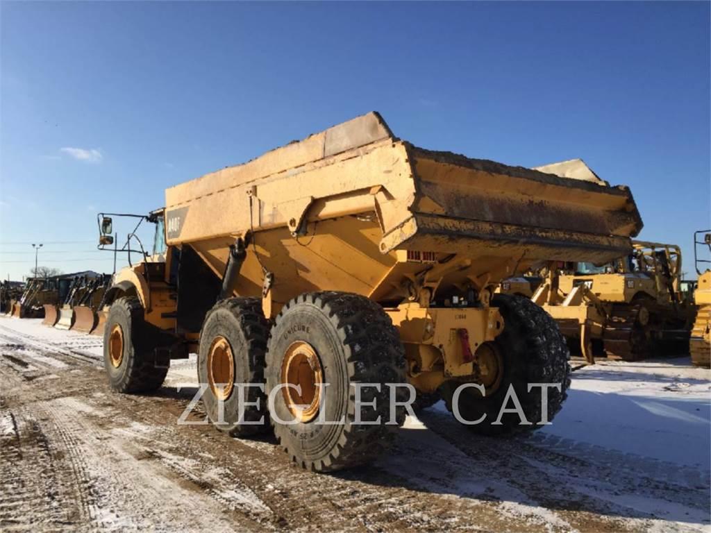 Volvo A40F, Articulated Dump Trucks (ADTs), Construction