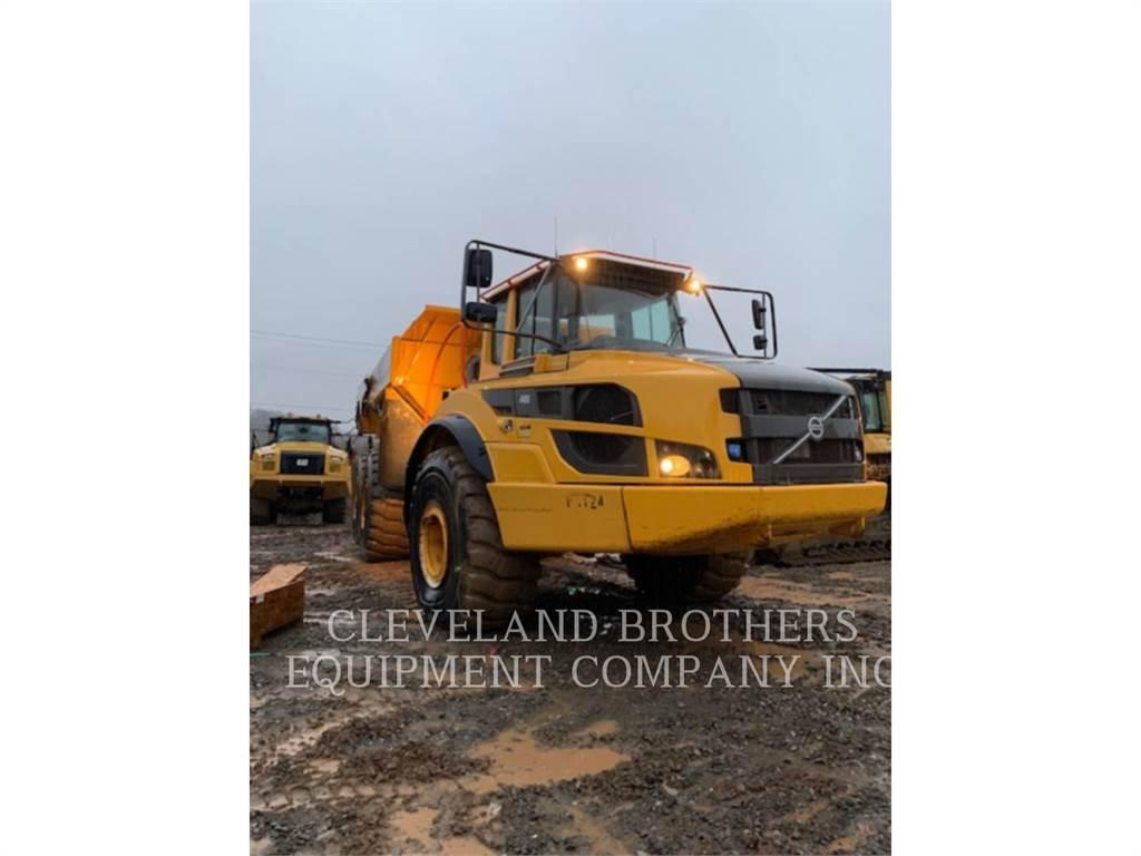 Volvo A40G, Tombereau articulé, Équipement De Construction